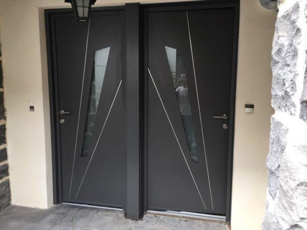 Porte d'entrée à Chatel Guyon